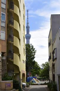 日本东京街头建筑