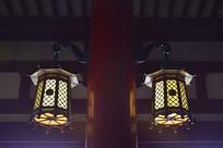 日本浅草寺的灯笼