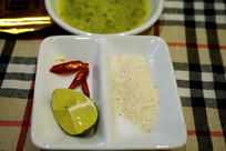 越南菜调味碟及佐料