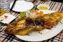 越南菜-烧烤鱼头