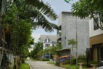 越南海阳市城市街景