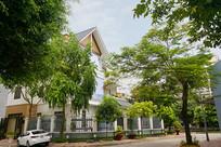 越南海阳市街道及民居建筑