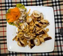 越南美食-越南菜-炒鱿鱼