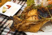 越南烧烤-烤鱼头