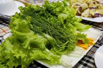 越南烧烤配菜生菜