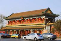 北京市新华门及西长安街