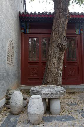 北京四合院的角落