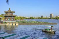 济南大明湖公园建筑
