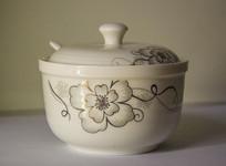 青花瓷调料罐