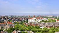 上海宝山区的北欧新城