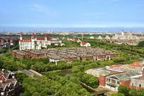 上海宝山区罗店北欧小镇风貌
