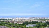 上海宝山区全景图