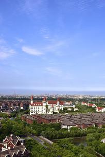 上海北欧小镇的宜人环境