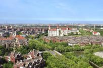 上海罗店北欧小镇的居民楼