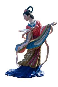 重庆巫山黄岩净坛峰景区神女像