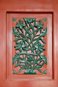 北京东堂木门中式雕花