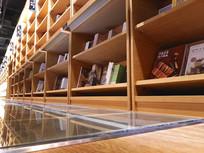 实木书柜素材