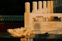 北京天坛具服台汉白玉栏杆