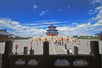 北京天坛祈年殿外景
