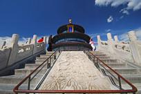 北京天坛祈年殿-云龙凤御路