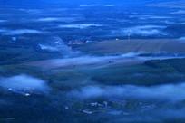 山村云雾风景