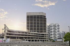 在建中的大楼