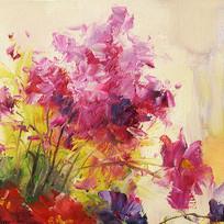 油画花卉画