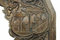 成都川西民居雕刻馆木雕装饰