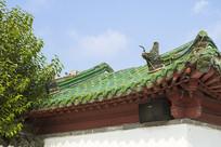曲阜孔子文化园大门屋顶
