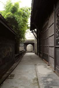 四川大邑县刘文昭公馆庭院