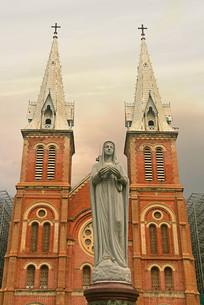 越南西贡圣玛利亚大教堂