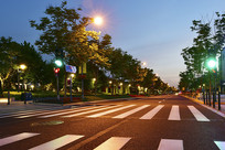 公路与路灯