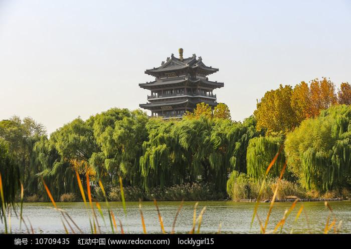 济南大明湖超然楼风光图片