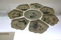 民国青花瓷盘