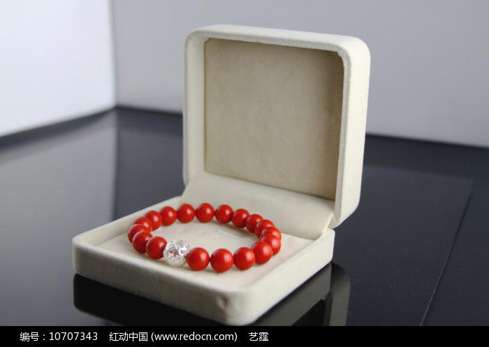 民族饰品-红珊瑚手链图片