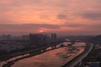 日出的河东
