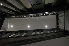 上海交响乐博物馆室内木楼梯