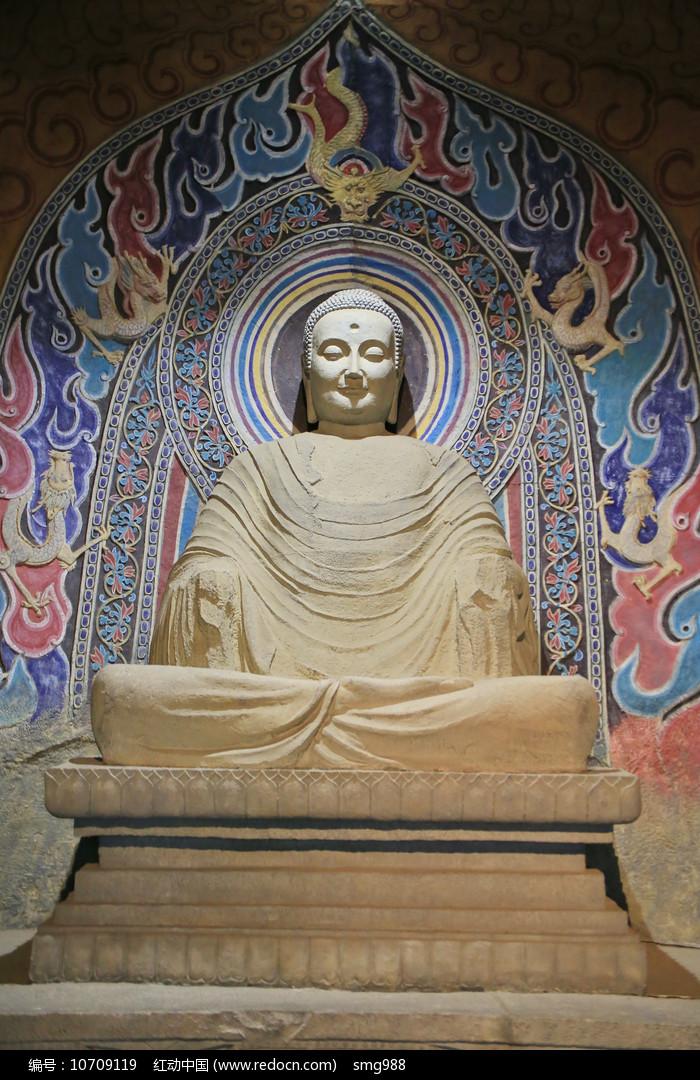 释迦牟尼佛像坐像图片