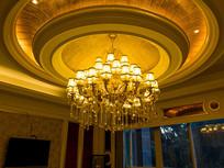 餐馆豪华包间吊顶灯饰
