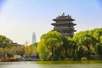 大明湖公园风景