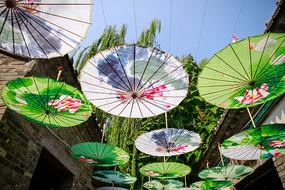 传统手工艺品油纸伞