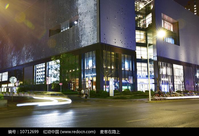 凯德晶萃广场的夜晚图片