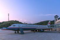 民航实习飞机