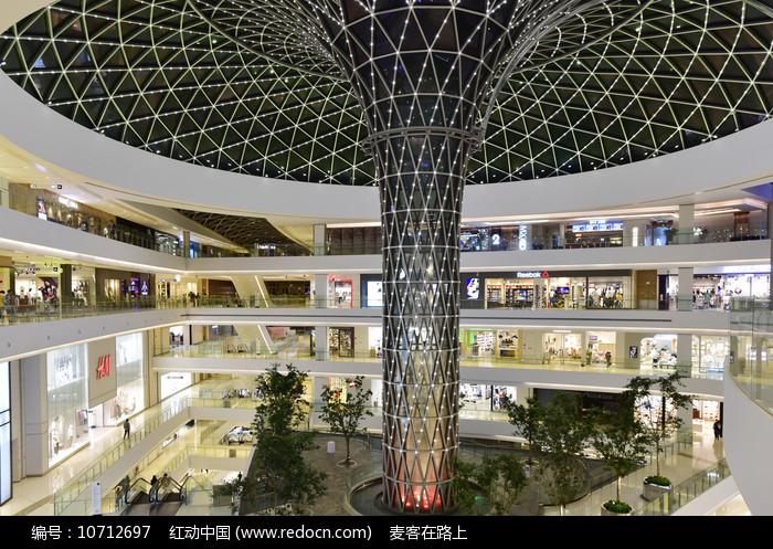 上海凯德晶萃广场内景图片