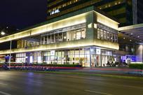 上海凯德晶萃广场夜景