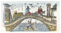 杨柳青年画赵州桥