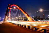 重庆夜景-菜园坝大桥