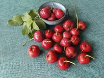 红色山楂果