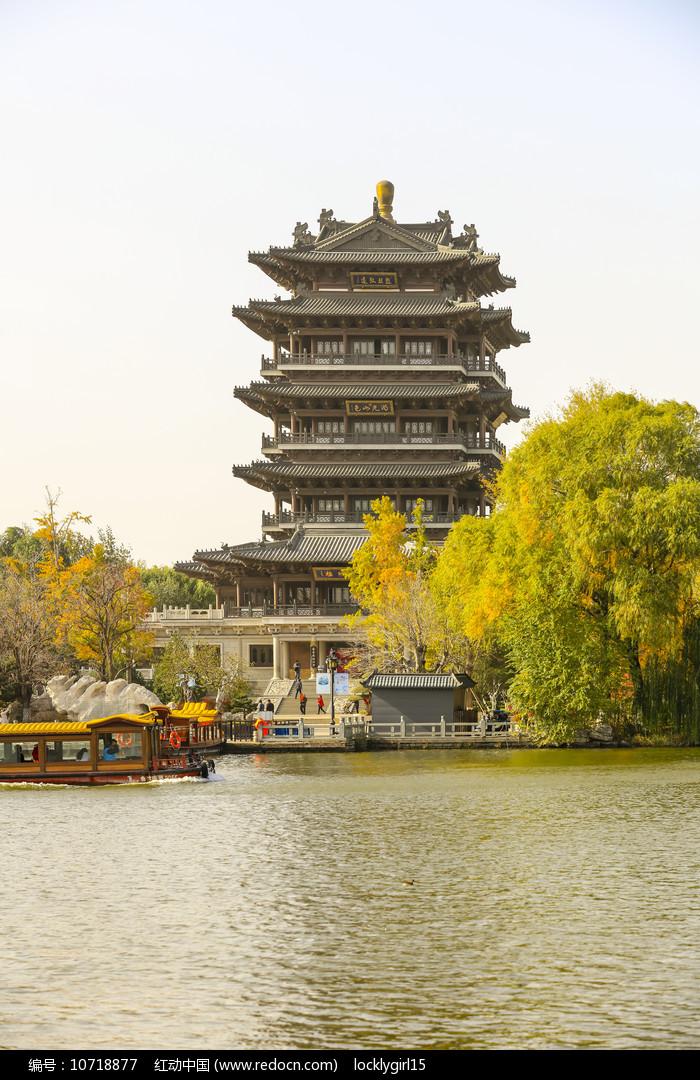 济南大明湖超然楼图片