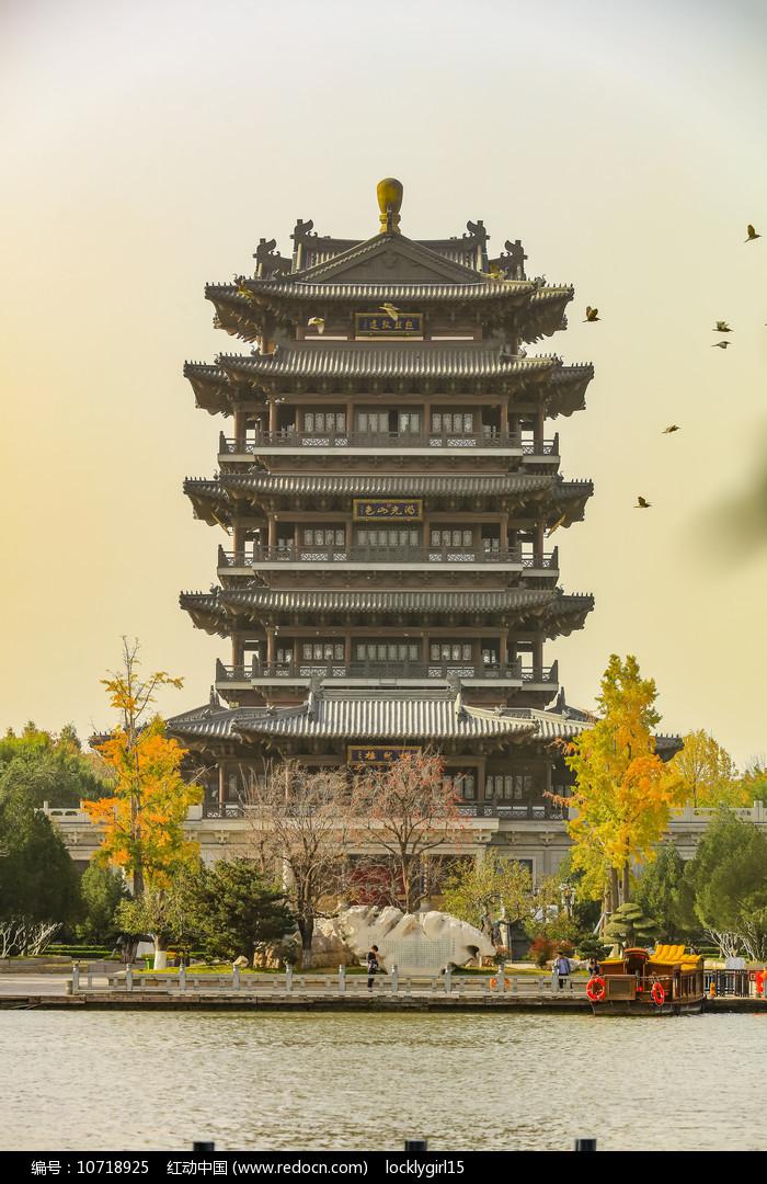 山东济南市大明湖超然楼图片